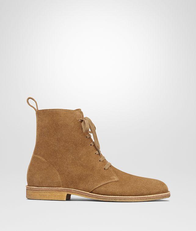 Bottega Veneta 174 Camel Suede Corby Boot