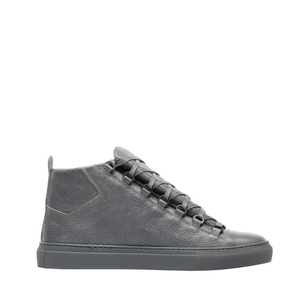 BALENCIAGA Grained Calfskin High Sneakers Arena Sneakers U f