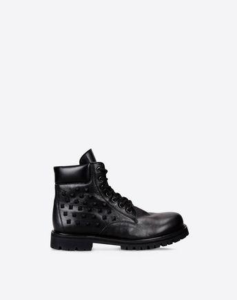 VALENTINO Rockstud Combat Boot 11065817HG