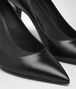BOTTEGA VENETA TIPPIE PUMPS IN NERO CALF, INTRECCIATO DETAILS Pump or Sandal D ap