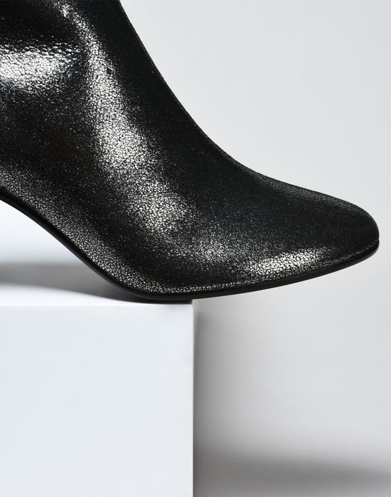 MM6 by MAISON MARGIELA Metallic ankle boots Ankle boots D a