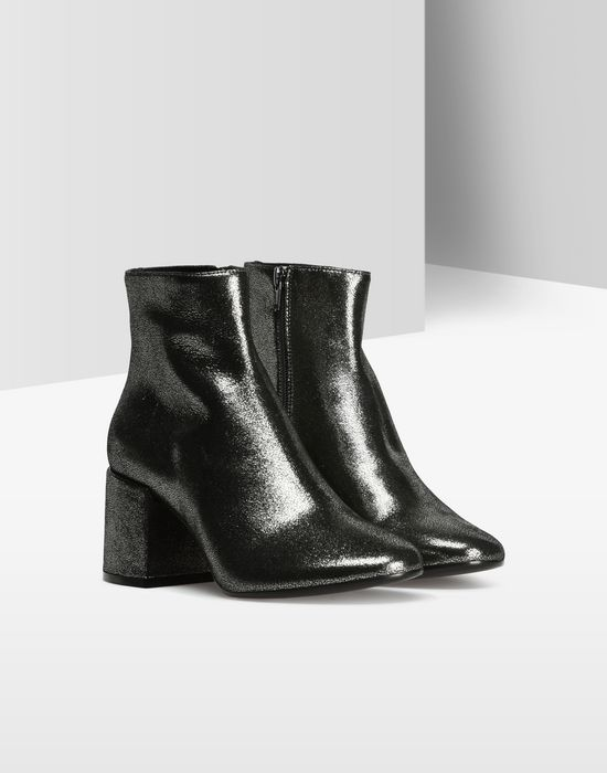 MM6 by MAISON MARGIELA Metallic ankle boots Ankle boots D r