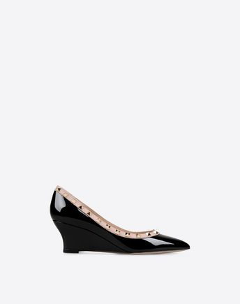 VALENTINO GARAVANI Wedge D Rockstud Wedge f