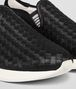 BOTTEGA VENETA SNEAKER IN NERO INTRECCIATO CALF Trainers Man ap