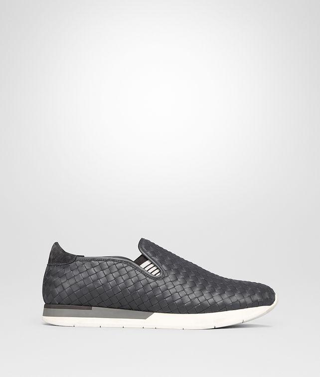 BOTTEGA VENETA SNEAKER IN ARDOISE INTRECCIATO CALF Sneaker or Sandal Man fp