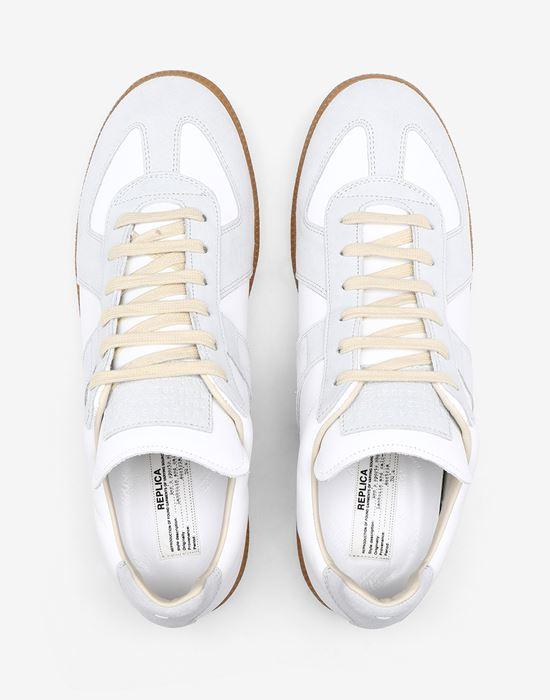 MAISON MARGIELA Calfskin 'Replica' sneakers Sneakers [*** pickupInStoreShippingNotGuaranteed_info ***] a