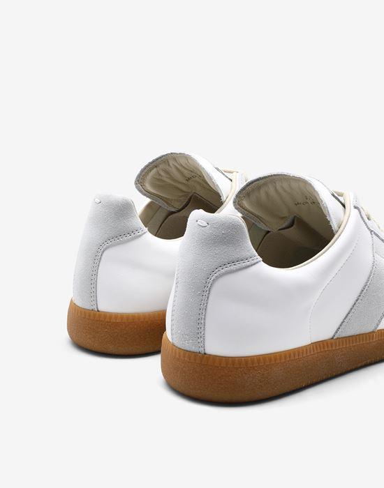 MAISON MARGIELA Calfskin 'Replica' sneakers Sneakers [*** pickupInStoreShippingNotGuaranteed_info ***] e