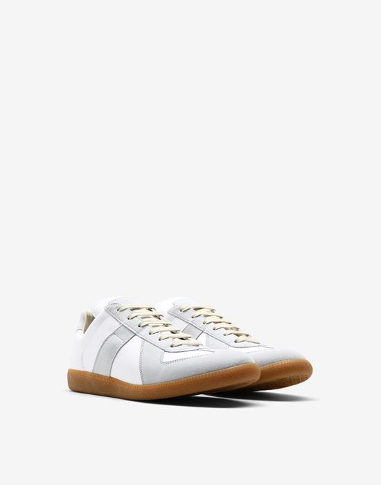 MAISON MARGIELA Calfskin 'Replica' sneakers Sneakers [*** pickupInStoreShippingNotGuaranteed_info ***] r