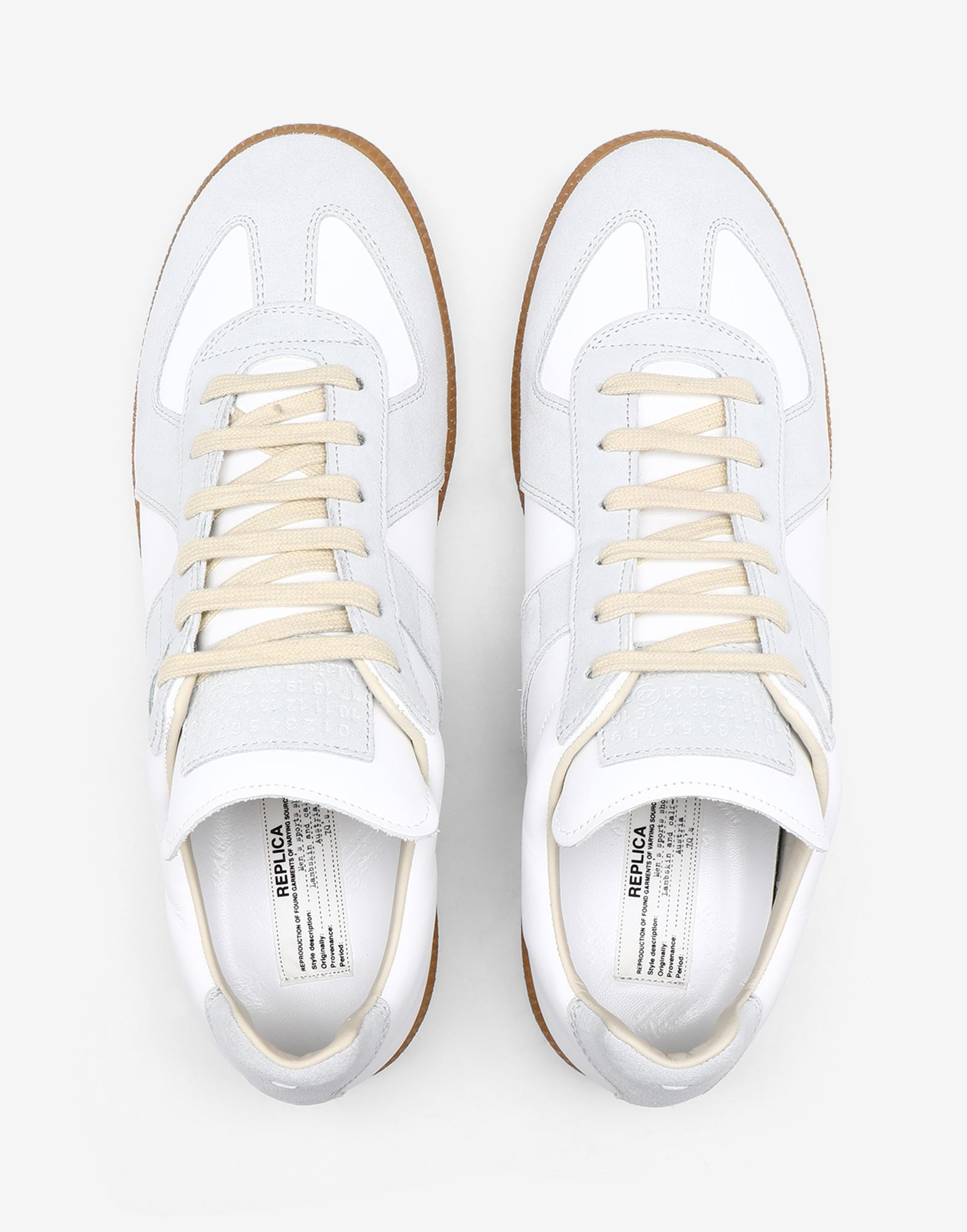 MAISON MARGIELA Calfskin 'Replica' sneakers Sneakers Man a