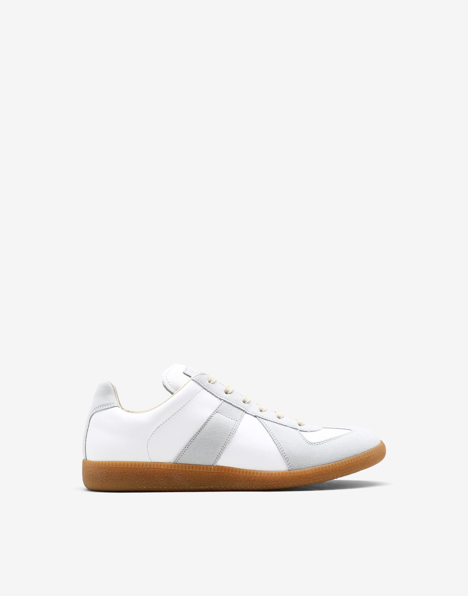 MAISON MARGIELA Calfskin 'Replica' sneakers Sneakers Man f