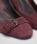 BOTTEGA VENETA CHERBOURG PUMPS IN BAROLO SUEDE, INTRECCIATO DETAILS Pump or Sandal D ap