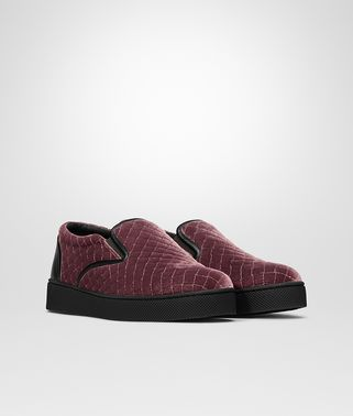 DODGER SNEAKER IN BAROLO EMBROIDERED VELVET