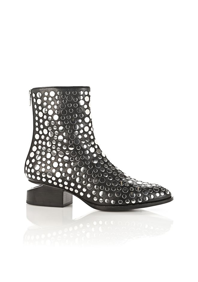 ALEXANDER WANG Boots STUDDED ANOUCK BOOT WITH RHODIUM
