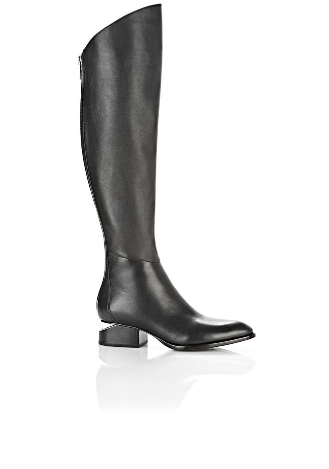 ALEXANDER WANG Boots Women SIGRID BOOT WITH RHODIUM