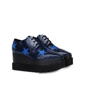 Scarpe Elyse blu con stelle