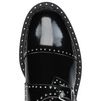 STELLA McCARTNEY Black Odette Brogues Flat Shoes D a