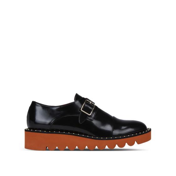 黑色 Odette 布洛克鞋