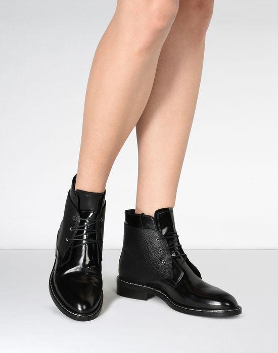 a78c77f1d2c22 Maison Margiela Calfskin Lace Up Boots Women   Maison Margiela Store