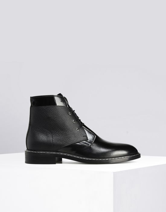 25404c3572 Maison Margiela Calfskin Lace Up Boots Women | Maison Margiela ...