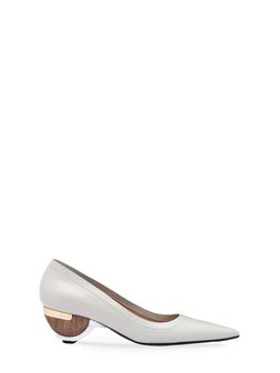 Marni Pump in calfskin, sculptural heel Woman