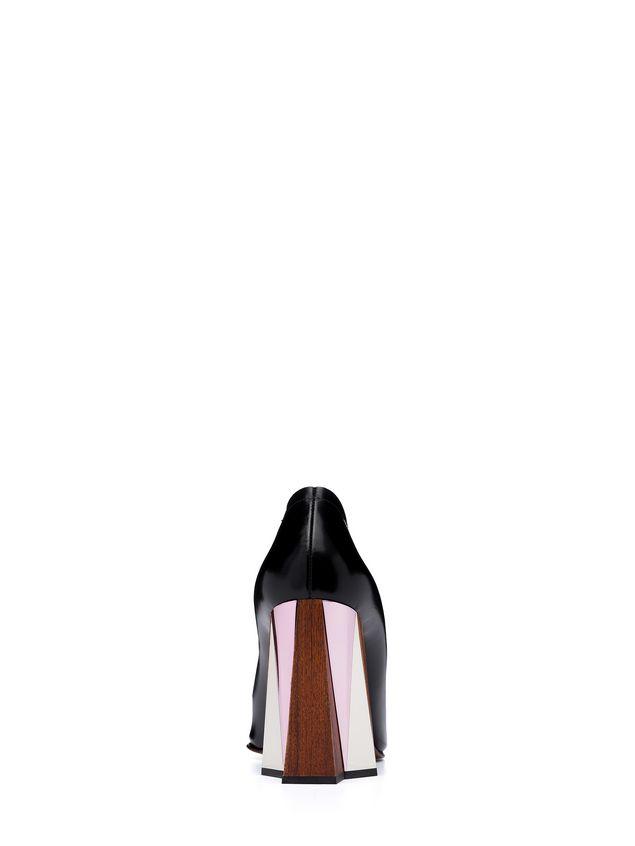 Marni Pump in calfskin sculptured heel Woman