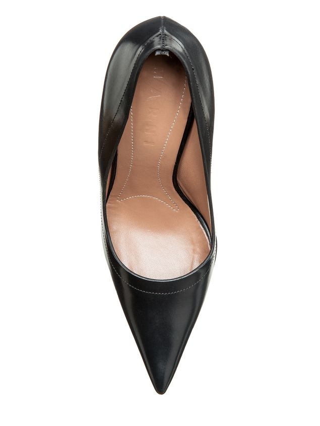 Marni Pump in calfskin sculptured heel Woman - 4