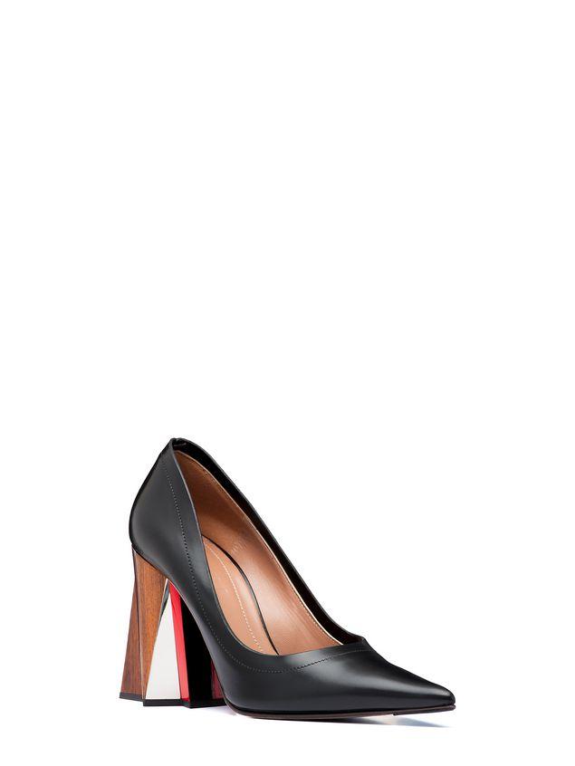 Marni Pump in calfskin sculptured heel Woman - 2