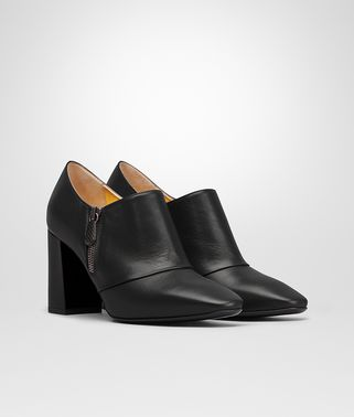 CHERBOURG ANKLE BOOT IN NERO SMOOTH KID