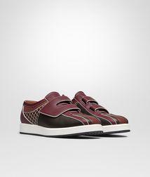 BOTTEGA VENETA Sneaker or Sandal U SNEAKER IN DARK NAVY MULTICOLOR CALF INTRECCIATO fp