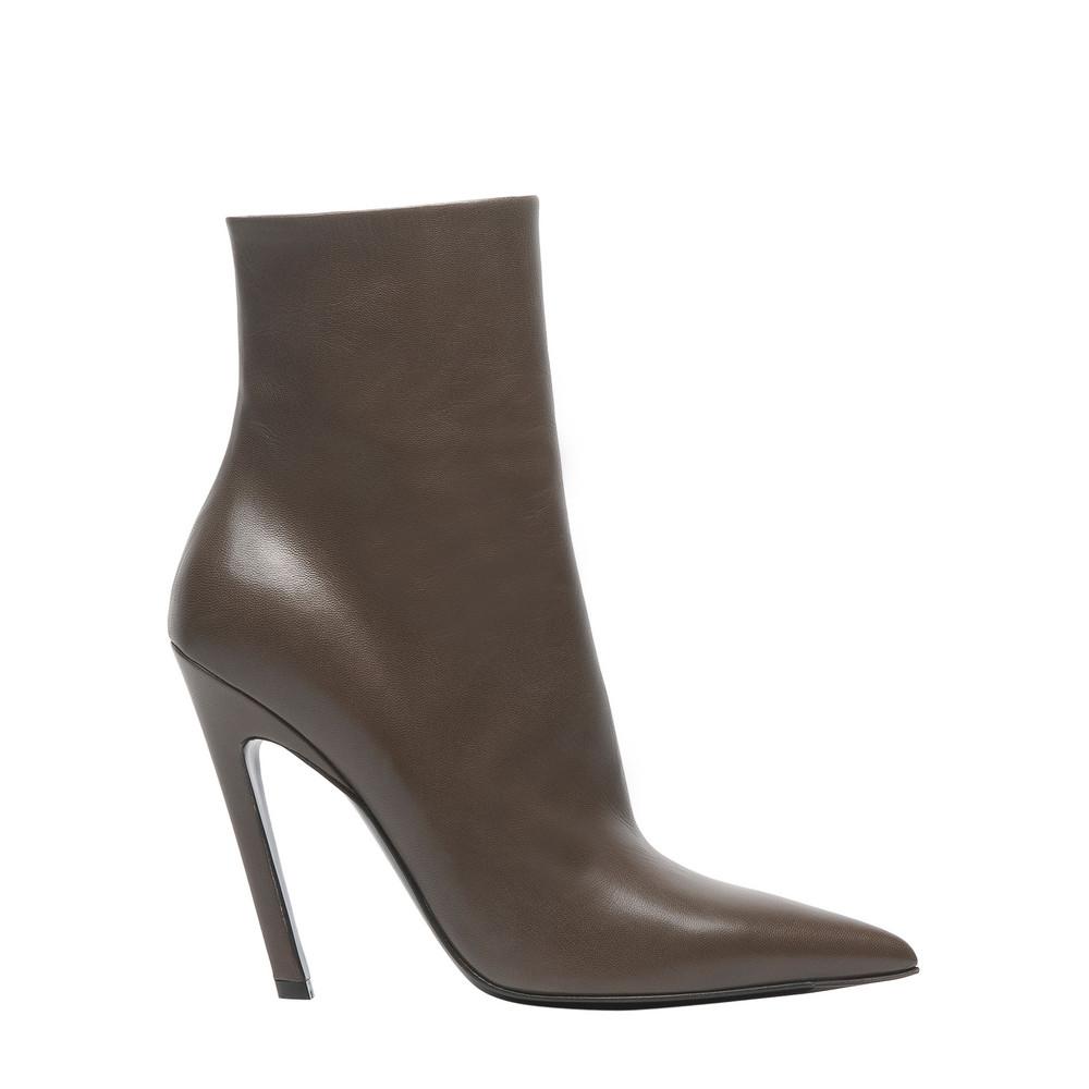 balenciaga slash heel boots vert jonc s slash shoes