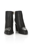 ALEXANDER WANG GABI BOOTIE WITH YELLOW GOLD BOOTS Adult 8_n_a