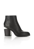 ALEXANDER WANG GABI BOOTIE WITH YELLOW GOLD BOOTS Adult 8_n_f