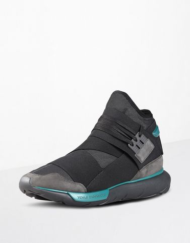 y 3 qasa men 39 s sneakers high top and low top y. Black Bedroom Furniture Sets. Home Design Ideas