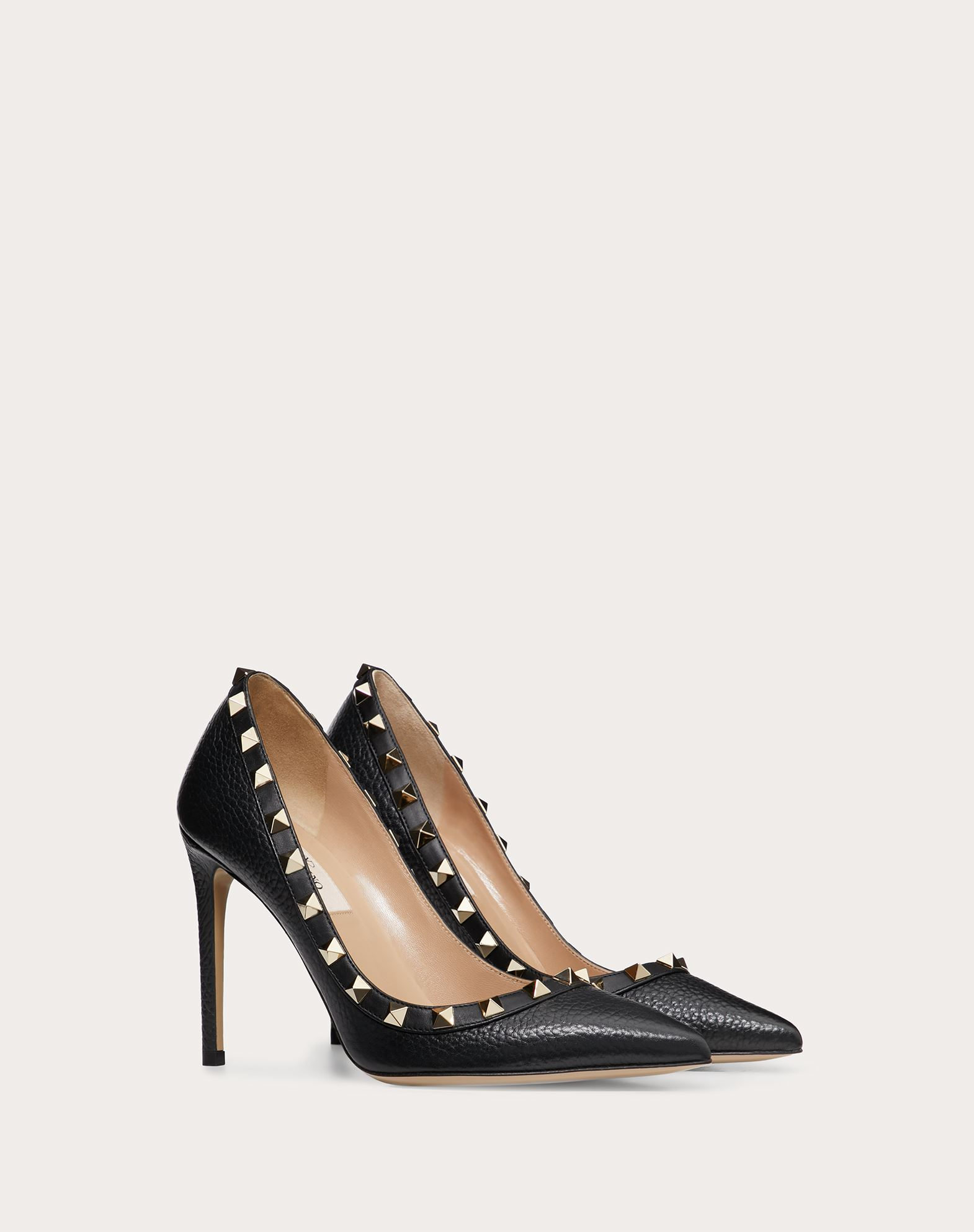 pumps stud pump metallic browse xlarge leather rock shopstyle valentino rockstud
