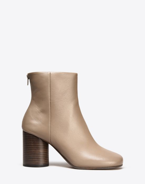 MAISON MARGIELA 22 Calfskin Round-toe 'Socks' ankle boots Ankle boots Woman  f