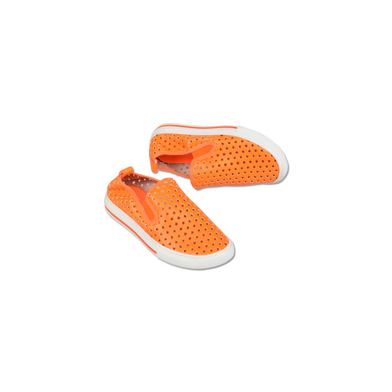Bright Orange Leo Shoes