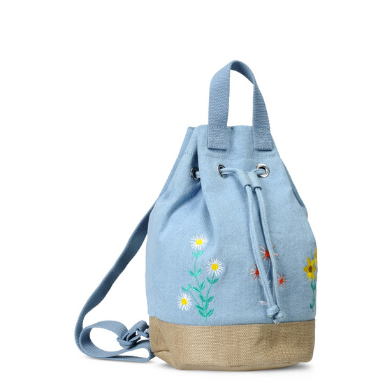 Gardenia Denim Bag