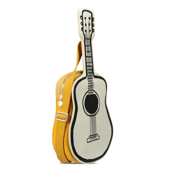 Sac guitare blanc