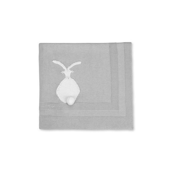 Grey Snowball Blanket
