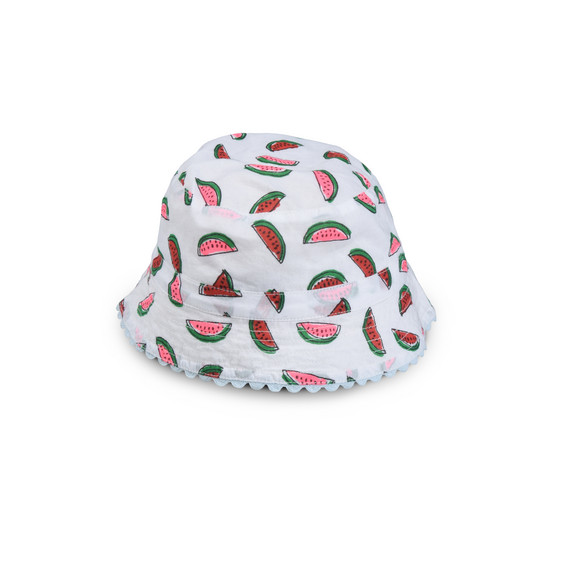 Watermelon Print Dolores Hat