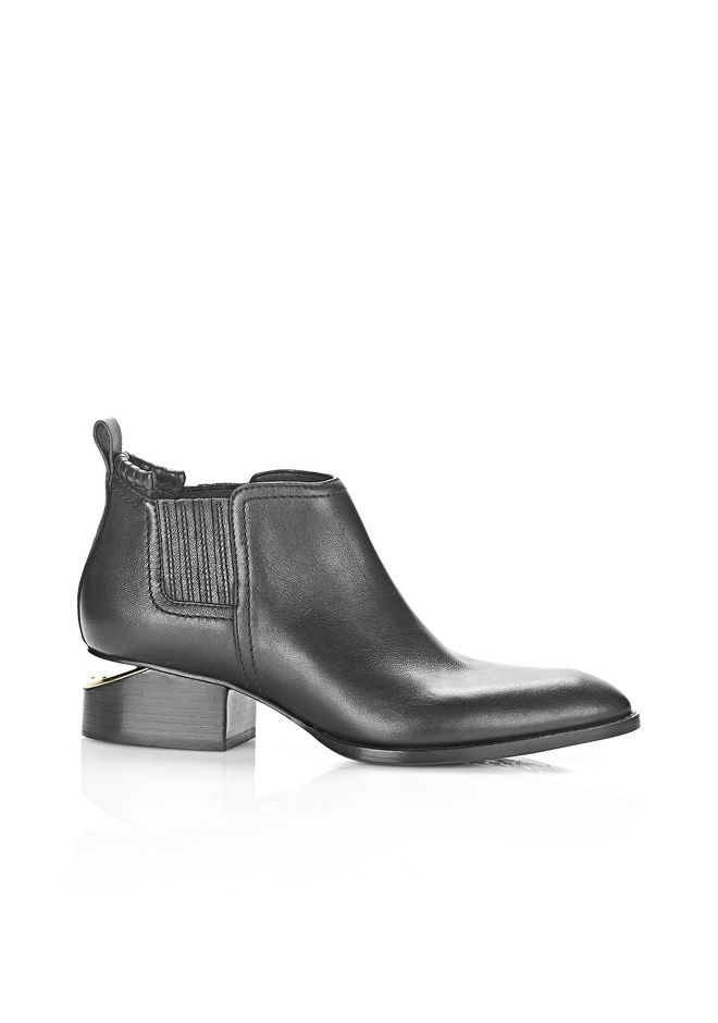 ALEXANDER WANG Boots KORI OXFORD WITH YELLOW GOLD