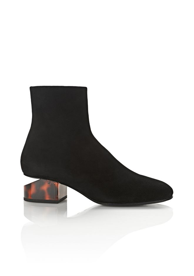 ALEXANDER WANG Boots KELLY SUEDE BOOT WITH TORTOISE