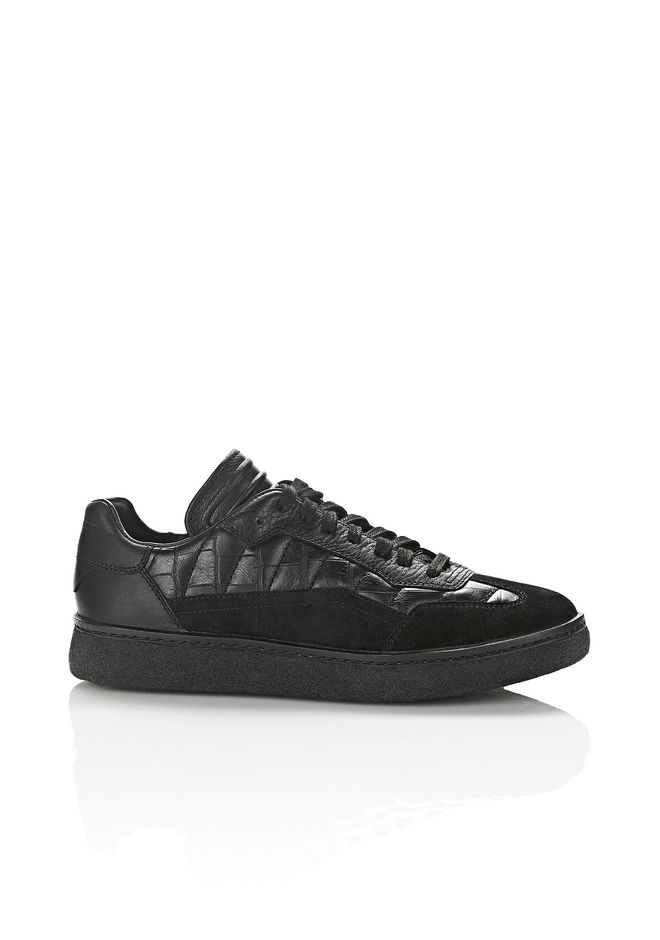ALEXANDER WANG Sneakers Women CROC EMBOSSED EDEN LOW TOP SNEAKERS