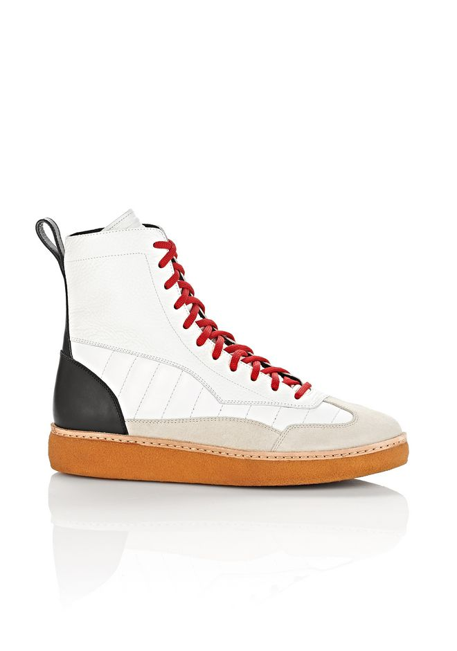 ALEXANDER WANG Footwear EDEN HIGH TOP SNEAKERS