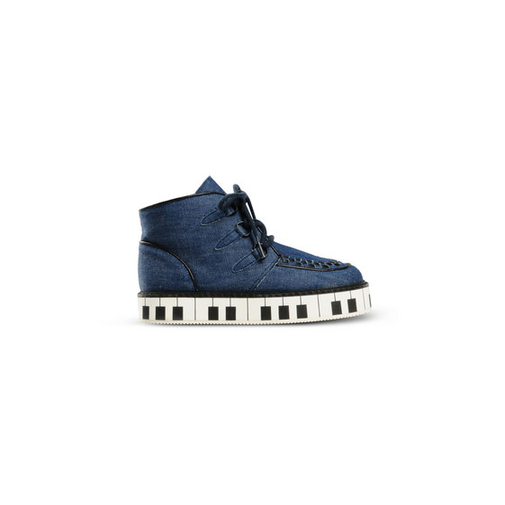 Denim Piano Munster Shoes