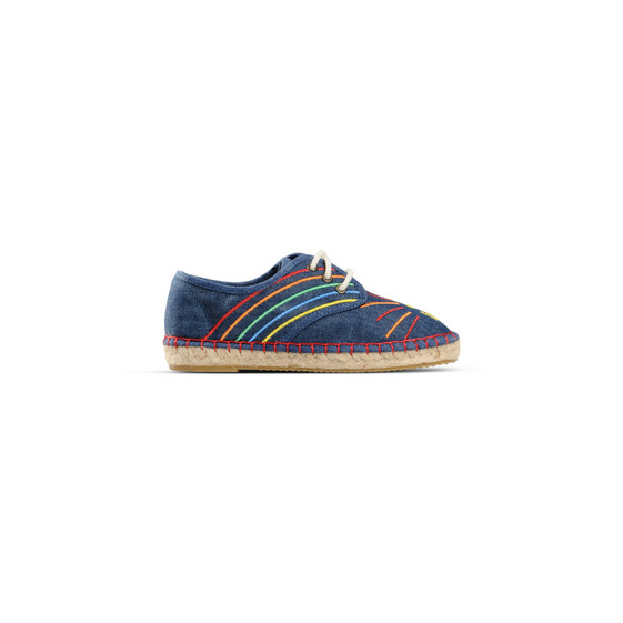 Denim Rainbow Rae Espadrilles