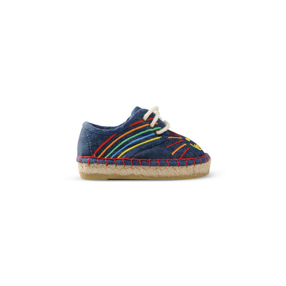 Rainbow Embroidered Rae Espadrilles