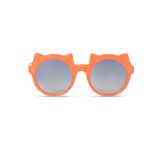 Bright Orange Cat ear Sunglasses