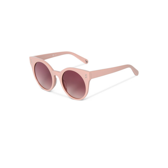 Light Pink Oval Sunglasses