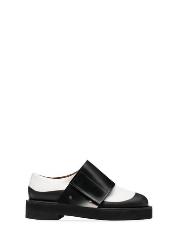 Marni Calfskin lace-up with velcro gaiter Woman